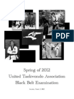 UTA Black Belt Test