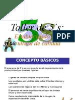 3 TALLER DE LAS  5`S