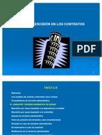2.11 Rescision Del Cont. de Obra y Sus Impl.
