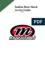 2007 Manitou Shock Service Manual - Rev NC