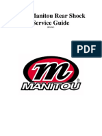 2007 Manitou Shock Service Manual - Rev NC