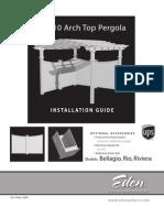 Bellagio Pergola Instructions