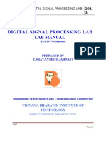 Digital Signal Processing Lab