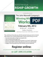 John Maxwell - Winning with People