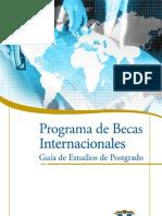 Programa de Becas Postgrado