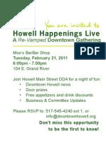 Howell Happenings Live