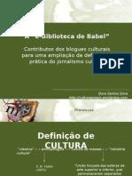 Apresentacao Dora Biblioteca Babel