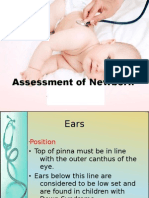 Assessment of Newborn