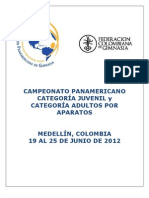 Convocatoria to Pan America No Juvenil y Adultos Por Aparatos 2012 (2)