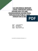 Tugas Merger Dan Akuisisi