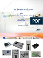 ABOV Semiconductor MDS 20100926