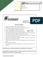 Fuvest2012 2fase 3dia Prova