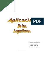 Aplicacion de Los Logaritmos