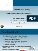 DOAG 2011 Performance Tuning