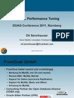 DOAG 2011 Performance Tuning