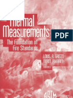 ASTM01 Thermal Measurements the Foundation of Fire Standards Gritzo