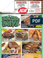 IGA Michigan Stores Weekly Circular