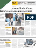 Centro Histórico Lima - Imprentas