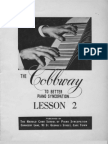 Cobbway Piano Syncopation Lesson 2 of 8