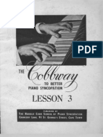 Cobbway Piano Syncopation Lesson 3 of 8