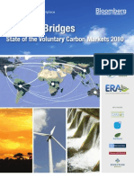 Ecosystem Marketplace Building Bridges State of the Voluntary Carbon Markets 2010