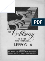 Cobbway Piano Syncopation Lesson 6 of 8