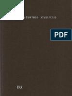 Peter Zumthor - Atmosferas