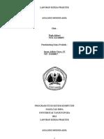 Laporan Kerja Praktek Analisis Modem ADSL