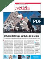El humor gráfico. La Voz de la Escuela.08.02.2012
