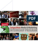 Campus Mate Welcome Packet_Spring2012