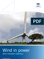 Wind in Power Statistic 2011