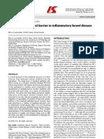 Laukoetter - Role of Intestine in IBD