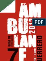 Programa Festival de Documental Ambulante 2012