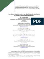 Los diarios españoles online y las plataformas de distribución en la red
