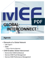 Global Interconnect ENNI UNI OAM 2010 Jan 06