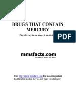 Medicines That Contain Mercury