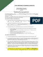 2009-04!04!015939 Wedding Planner Contract