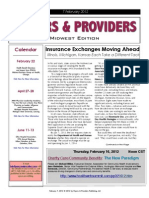 Payers & Providers Midwest Edition – Issue of February 7, 2012