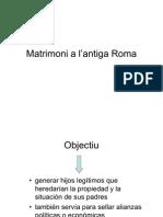 Matrimoni a l'antiga Roma