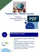 Polytronics Plastic Circuits Buzzparas