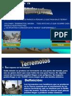 Volcanes y Terremotos