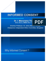Informed Consent Manorama