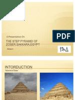 The Step Pyramid of Zoser,Sakkara,Egypt