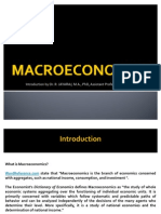 Macroeconomics Introduction (2)