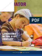 Innovator vol. 39, Fall 2008. Literacies in the 21st century