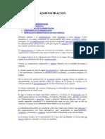 Antecedentes de La Admin is Trac Ion 1