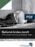 Battered Broken Bereft St Mungos Report Oct 2011
