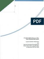 Laporan Keuangan 2010 Adhi Karya ADHI. Audited.