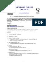 Agenda Npc 13th February 12