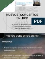 Nuevos Conceptps de Rcp
